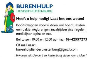 corona burenhulpdienst Liendert Rustenburg